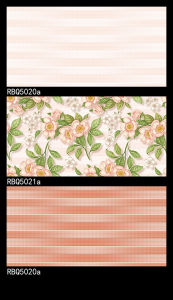 Rbq5021A Pink Glazed Inkjet Wall Tiles pictures & photos