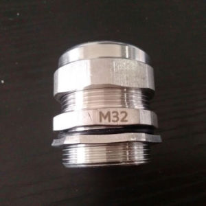 Ss304 M10 Stainless Steel Cable Glands pictures & photos
