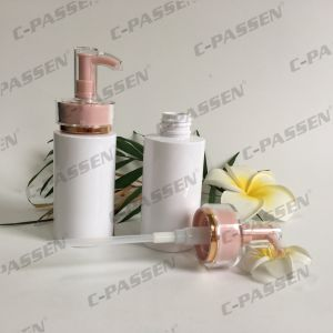 Plastic Skincare Packaging White Pet Bottle with Lotion Pump (PPC-PB-064) pictures & photos