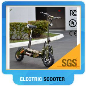 High Quality 2000W Foldable Electric Scooter with Basket pictures & photos