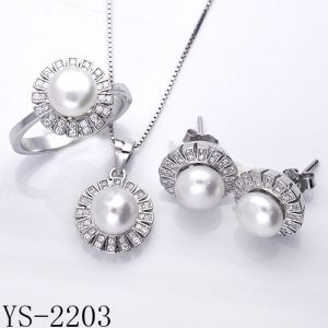 Fashion Jewelry 925 Sterling Silver Jewelry Set Hotsale pictures & photos