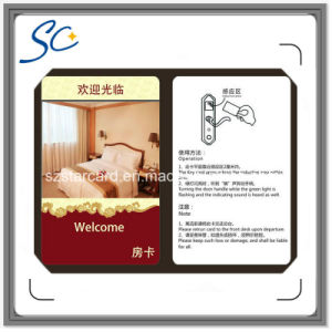 RFID Hotel Key Card with Tk4100 T5577 F08 Chip pictures & photos
