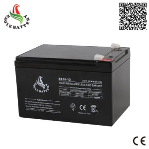 12V 10ah Maintenance Free Sealed Lead Acid Battery for Flash Light pictures & photos