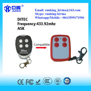 Copy Ditec Brand Rolling Code Remote Control 433.92MHz pictures & photos