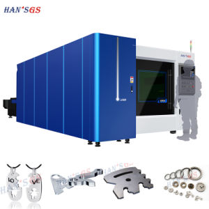 500W/700W/1000W/1500W/2000W Fiber Laser Cutting Machine From Han′s GS pictures & photos
