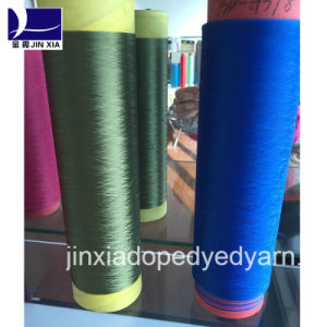 Dope Dyed Polyester Yarn Monofilament 60d/3f pictures & photos
