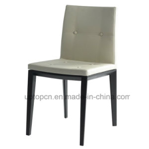 Modern Upholstered Wooden Dining Chair with Leather Seat (SP-EC730) pictures & photos