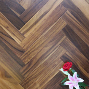Acacia Herringbone Parquet Flooring /Small Leaf Acacia Flooring/Wooden Flooring pictures & photos
