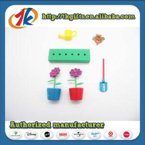 Preschool Toys Garden Play Set Plant Pot Flower & Carrot Toys pictures & photos