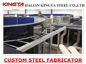 Hot DIP Galvanized Metal Structure Steel Grating Platform Walkway