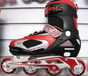 Traditional 4 Wheels Skates, with PVC Upper PU Wheel pictures & photos