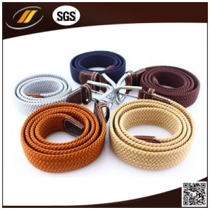 Fashion Unisex 3.5cm Width Leather Elastic Stretch Belts (HJ5111)