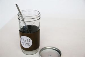 Juicing Containers with Seperated Lid, Water / Beverage Glass Bottles, Mason Jars pictures & photos