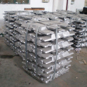 High Quality Pure Aluminum Ingot 99.7% with Factory Price pictures & photos