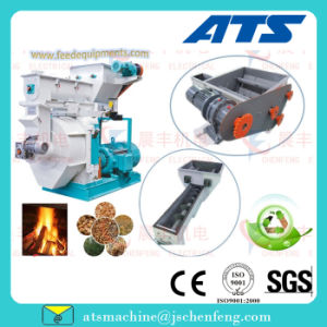 Automatic Oil Lubrication, Easy Operate Wood Sawdust Pellet Mill pictures & photos