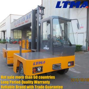 Ltma 3 Ton Mini Diesel Side Loader Forklift Truck pictures & photos