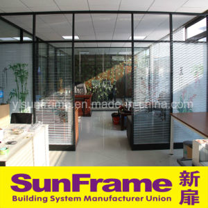 Aluminium Partition with Blinds pictures & photos