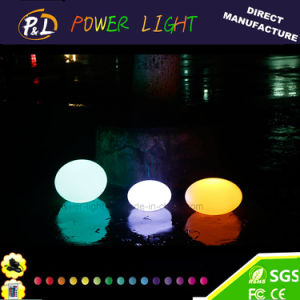 Outdoor Decor Illuminated LED Event Light Flat Ball pictures & photos
