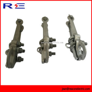 Straight Line Aluminum Strain Clamp for Pole Line Hardware pictures & photos