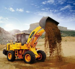 Popular Hydraulic 3ton Wheel Loader with Ce pictures & photos