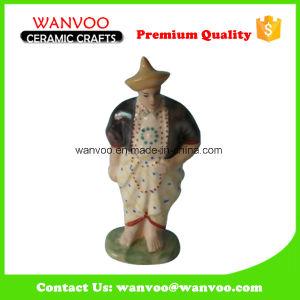 Ancient Hand Painted Porcelain Man Figurine Statue pictures & photos