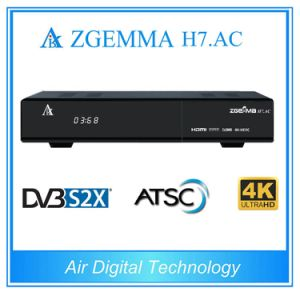 Zgemma H7. AC with 2*DVB-S2X + ATSC Multistream 4k Uhd Satellite Receiver for USA / Canada Market pictures & photos
