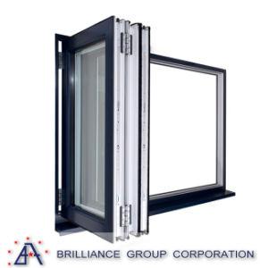Aluminum Folding/Bi-Folding Glass Windows pictures & photos