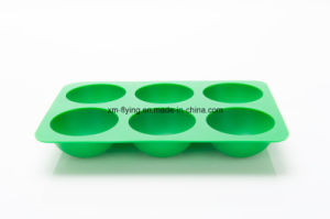 Food Grade Standard Half Ball Shape Silicone Chocolate Mold, Silicone Ice Ball Tray pictures & photos