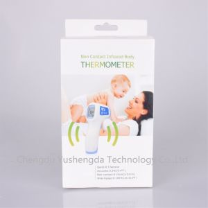 Gun Shape Baby Non-Contact Infrared Forehead Thermometer pictures & photos