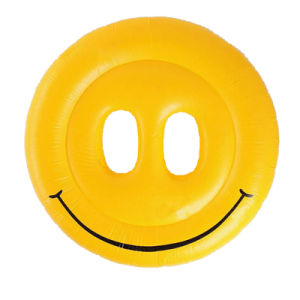 Customized Smile Face Inflatable Swimming Pool Float pictures & photos