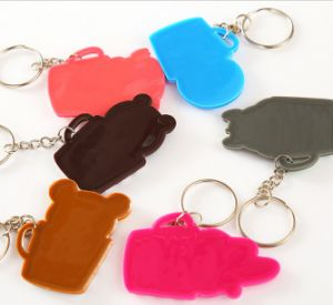Promotional Cute Shaped PVC Rubber Keychain pictures & photos