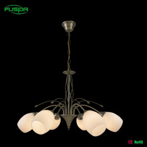 European Glas Chandelier Lamp in Antique Style (D-8103/6) pictures & photos