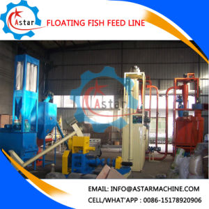200-300kg Per Hour Floating Fish Feed Line Supplier pictures & photos