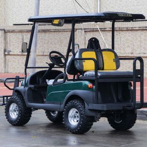 2 Front Seat Plus Rear Seat Electric Golf Cart Made by Excar Factory pictures & photos