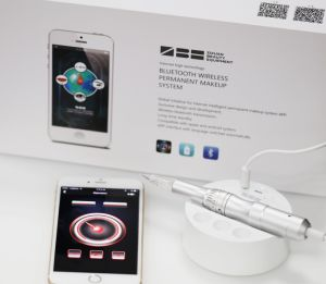 High-End iPhone APP System Bluetooth Connect Permanent Makeup Machine & Derma Pen pictures & photos