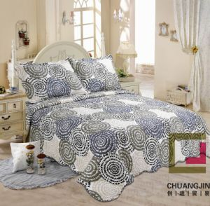 100% Microfiber Print Bedding Bedding Set (Quilt) pictures & photos