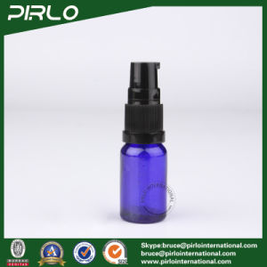 15ml Cobalt Glass Spray Bottles with Black Lotion Pump Sprayer pictures & photos