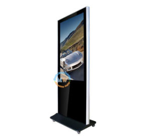 49 Inch 3G 4G WiFi Android LCD Advertising Display Kiosk with Wheels (MW-491AKN) pictures & photos