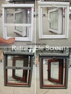 Energy Efficient Vinyl Double Glazing Casement Window pictures & photos