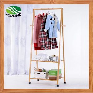 Simple Design Bamboo Clothes Stand/ Coat Rack pictures & photos