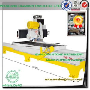 Syq-600 Manual Stone Slab Cutting Machine for Marble and Granite Processing -Natural Stone Cutting Machine pictures & photos
