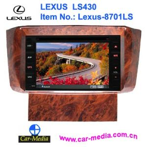 Car DVD Player with GPS Navigation for Lexus