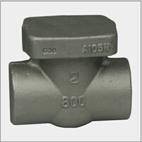 Forged Steel Valve Body of Gate (DTV-P012)