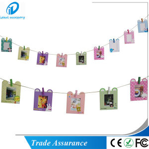9PCS/Set Fashion House Pattern Fujifilm Instax Mini Film Photo Decor Frame pictures & photos