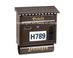 American Letterbox with Newspaper Container pictures & photos