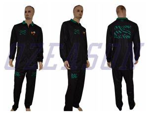 2016 Sportswear 100% Polyester Woven Tracksuit for Couple pictures & photos