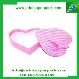 Rigid Paper Cardboard Heart Shape Packing Gift Box pictures & photos