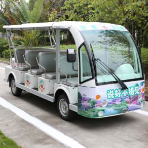 11 Passengers Electric Shuttle Bus for Resort & Parks (DN-11) pictures & photos