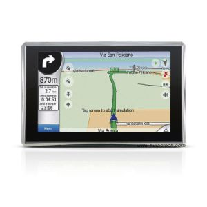 "Cheap 5.0"" Car GPS Navigation with 128MB RAM, 8GB Flash, FM-Transmitter, New Igo Map pictures & photos"