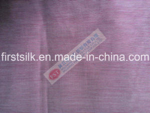 Yarn-Dyed Silk Cotton Stripe Fabric pictures & photos